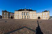 image of v-day  - Amalienborg is the residence of the Danish Royal Family - JPG