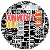 stock photo of nyse  - Commodity stock market or trading concept - JPG