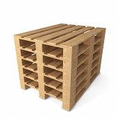 pic of wooden pallet  - Wooden pallets - JPG
