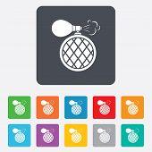 image of fragrance  - Perfume bottle sign icon - JPG
