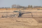 image of open-pit mine  - Open pit - JPG