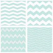 picture of chevron  - Tile vector chevron pattern set with sailor blue and white zig zag background - JPG