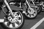 Постер, плакат: Motorcycles