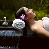 picture of spa massage  - Spa treatment - JPG