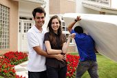 picture of movers  - Real estate and moving home - JPG