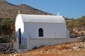 Whitewashed chapel, Halki