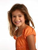 stock photo of young girls  - young girl - JPG