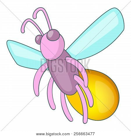 Firefly Icon Cartoon Illustration Of
