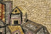 pic of cardo  - map of jerusalem in mosaic - JPG