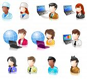 image of people icon  - Various People Userpic Glossy IconSet - JPG