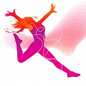 picture of rap-girl  - The dancer - JPG