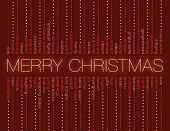 stock photo of scrooge  - christmas words in various shades of red - JPG