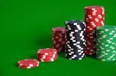 Постер, плакат: азартные игры фишки