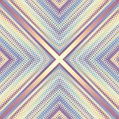 Geometric Abstract Symmetric Pattern In Low Poly Pixel Art Style. Seamless Low Poly Background. Vect poster