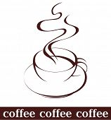 picture of coffee-cup  - coffee cup - JPG