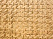 Close Up Image Of Traditional Wicker Surface Texture Pattern For Use As Background, Handcraft Weave  poster