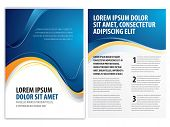 foto of brochure design  - vector business brochure - JPG