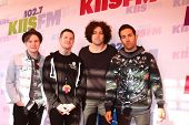 LOS ANGELES - MAY 11:  Fall Out Boy attend the 2013 Wango Tango concert produced by KIIS-FM at the H