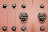 Chinese door handle