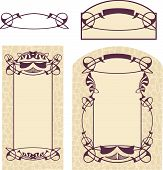 image of art nouveau  - Vector drawing of  - JPG