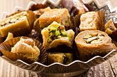 picture of phyllo dough  - arabic baklava - JPG