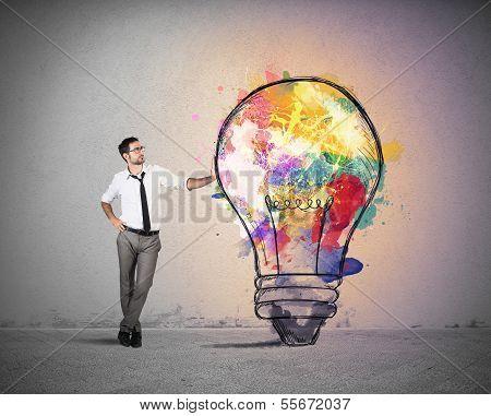 Creative Business Idea poster