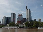 foto of frankfurt am main  - View of the city of Frankfurt am Main from the River Main - JPG