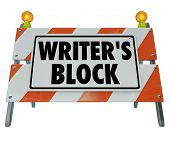 stock photo of barricade  - Writer - JPG