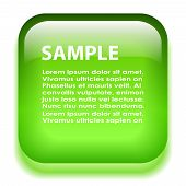 image of neon green  - A green glass information board - JPG