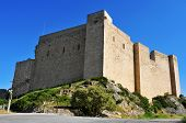 stock photo of templar  - a view of Templar Castle of Miravet - JPG