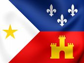 picture of acadian  - 3D Flag of the Acadiana - JPG