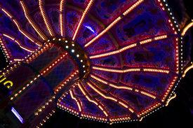 stock photo of merry-go-round  - Beautiful merry - JPG