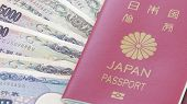 stock photo of passport cover  - Close  - JPG