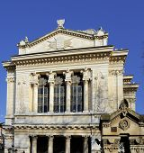 image of synagogue  - Exterior of the great synagogue in Rome Italy - JPG