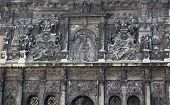 stock photo of building relief  - Part of beautiful old building  - JPG