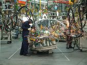 image of assembly line  - Auto Industry - JPG