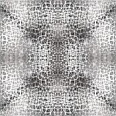 image of crocodile  - Abstract textile black - JPG
