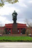 Taras Shevchenko Monument In Kiev poster