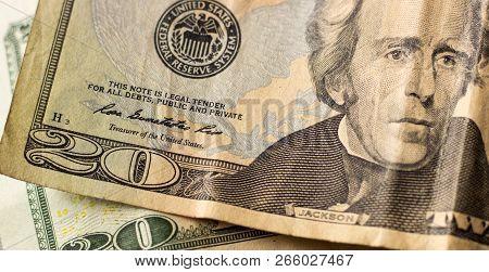 President Jackson Twenty Dollars Bill