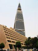 pic of riyadh  - Famous Al Faisaliah tower in Er Riyadh - JPG