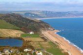 Beesands Beach In Start Point In Devon poster