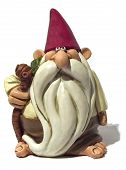 stock photo of  midget elves  - old gnome - JPG
