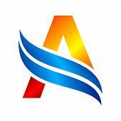 Letter A Logo. Royal Hotel, Premium Boutique, Fashion Logo, Super Logo, Vip Logo, A Letter Logo, Pre poster
