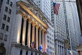 NEW YORK CITY - OCTOBER 13: The historic New York Stock Exchange is the largest stock exchange in th