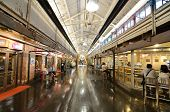NEW YORK CITY - AUGUST 25: Chelsea Market is Chelsea Market is an enclosed urban food court, shoppin