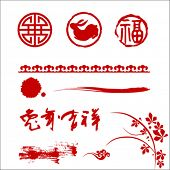 traditional Chinese paper-cut for chinese new year