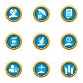Tone Icons Set. Flat Set Of 9 Tone Icons For Web Isolated On White Background poster