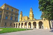 picture of munich residence  - The scenery at the Residenz and Odeonsplatz in Munich  - JPG