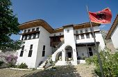 the National Ethnographic Museum in Kruja is located in a traditional albanian house built by the ri