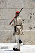 Greek Soldier Standing